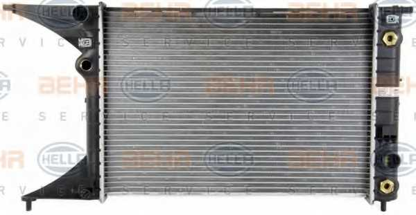 Радиатор охлаждения двигателя HELLA 8MK 376 718-651 - изображение 1