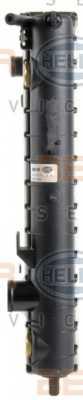 Радиатор охлаждения двигателя HELLA 8MK 376 718-651 - изображение 3