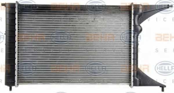 Радиатор охлаждения двигателя HELLA 8MK 376 718-651 - изображение 4