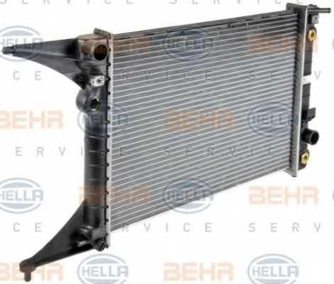 Радиатор охлаждения двигателя HELLA 8MK 376 718-651 - изображение 5