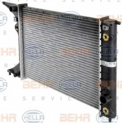 Радиатор охлаждения двигателя HELLA 8MK 376 718-651 - изображение 6