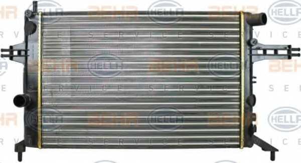 Радиатор охлаждения двигателя HELLA 8MK 376 720-421 - изображение 1