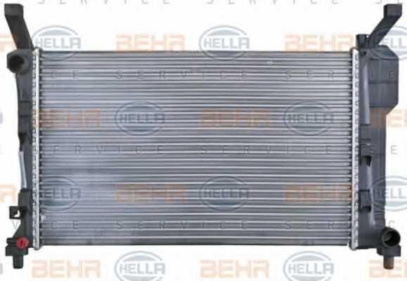 Радиатор охлаждения двигателя HELLA 8MK 376 721-021 - изображение 1