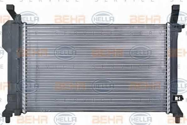 Радиатор охлаждения двигателя HELLA 8MK 376 721-021 - изображение 4
