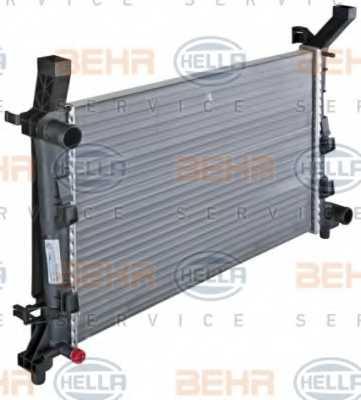 Радиатор охлаждения двигателя HELLA 8MK 376 721-021 - изображение 5