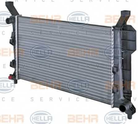 Радиатор охлаждения двигателя HELLA 8MK 376 721-021 - изображение 6