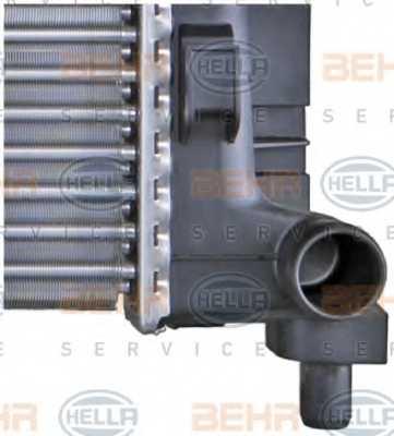 Радиатор охлаждения двигателя HELLA 8MK 376 721-021 - изображение 8