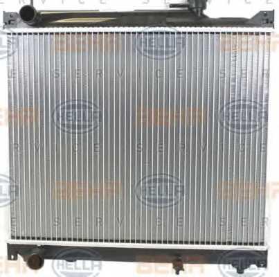 Радиатор охлаждения двигателя HELLA 8MK 376 724-661 - изображение 1