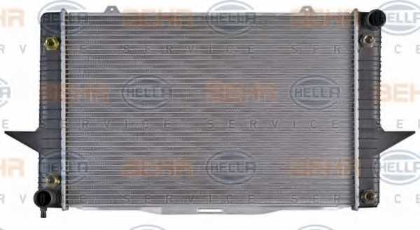 Радиатор охлаждения двигателя HELLA 8MK376726-761 - изображение 1