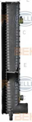 Радиатор охлаждения двигателя HELLA 8MK376726-761 - изображение 2