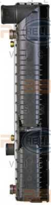 Радиатор охлаждения двигателя HELLA 8MK376726-761 - изображение 3
