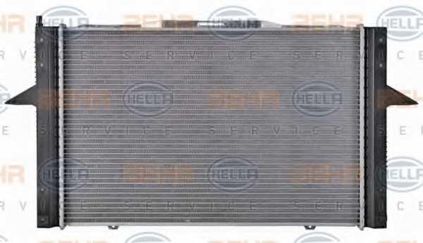 Радиатор охлаждения двигателя HELLA 8MK376726-761 - изображение 4