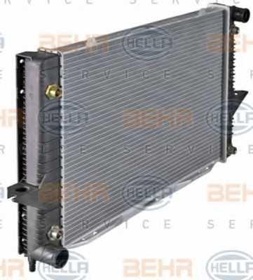 Радиатор охлаждения двигателя HELLA 8MK376726-761 - изображение 5