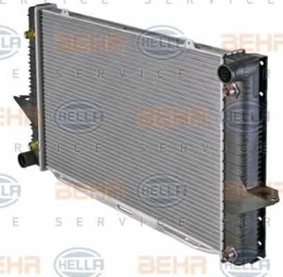 Радиатор охлаждения двигателя HELLA 8MK 376 726-761 - изображение 6