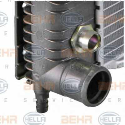 Радиатор охлаждения двигателя HELLA 8MK 376 726-761 - изображение 7