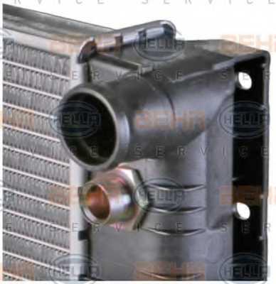 Радиатор охлаждения двигателя HELLA 8MK376726-761 - изображение 8