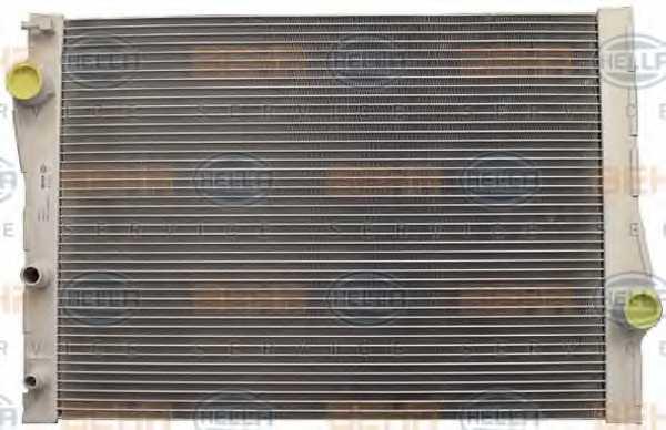 Радиатор охлаждения двигателя HELLA 8MK 376 753-001 - изображение 1