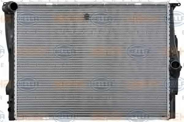 Радиатор охлаждения двигателя HELLA 8MK 376 754-041 - изображение 1