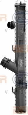 Радиатор охлаждения двигателя HELLA 8MK 376 754-041 - изображение 3