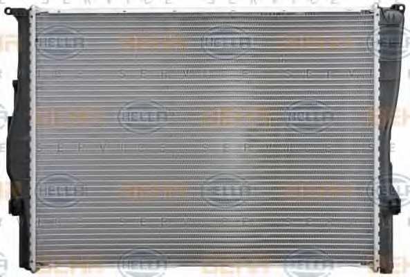 Радиатор охлаждения двигателя HELLA 8MK 376 754-041 - изображение 4
