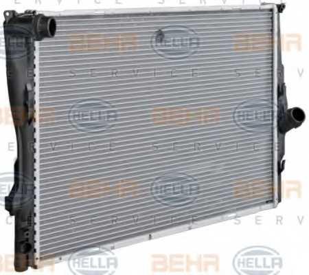 Радиатор охлаждения двигателя HELLA 8MK 376 754-041 - изображение 5