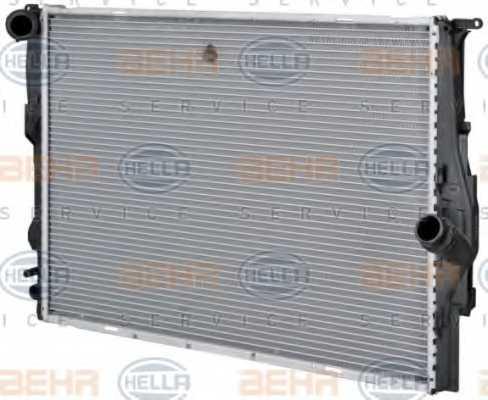 Радиатор охлаждения двигателя HELLA 8MK 376 754-041 - изображение 6