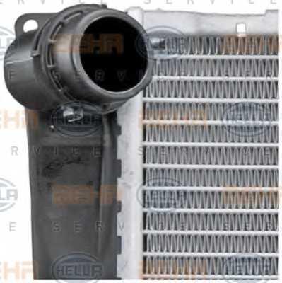 Радиатор охлаждения двигателя HELLA 8MK 376 754-041 - изображение 7