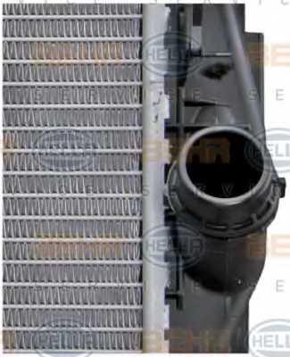 Радиатор охлаждения двигателя HELLA 8MK 376 754-041 - изображение 8