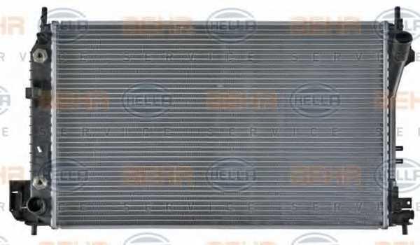 Радиатор охлаждения двигателя HELLA 8MK 376 771-211 - изображение 1