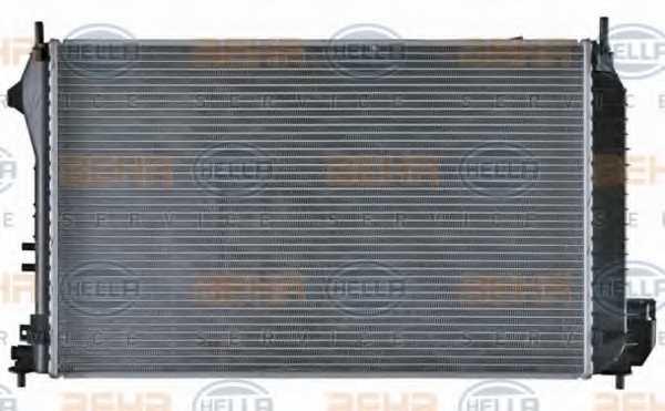 Радиатор охлаждения двигателя HELLA 8MK 376 771-211 - изображение 4