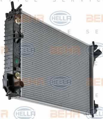 Радиатор охлаждения двигателя HELLA 8MK 376 771-211 - изображение 5