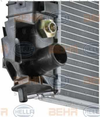Радиатор охлаждения двигателя HELLA 8MK 376 771-211 - изображение 7