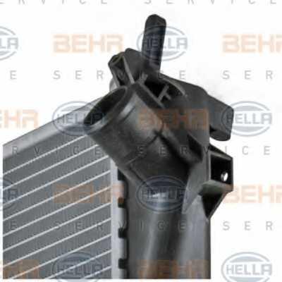 Радиатор охлаждения двигателя HELLA 8MK 376 771-211 - изображение 8