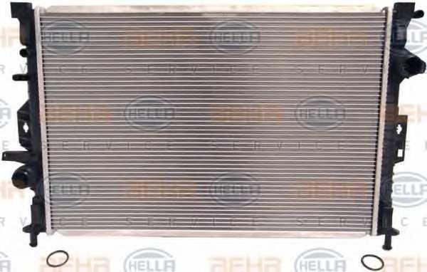 Радиатор охлаждения двигателя HELLA 8MK 376 787-121 - изображение 1