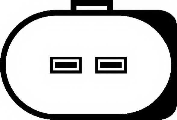 Водяной насос стеклоочистителя HELLA 8TW 006 848-021 - изображение 1