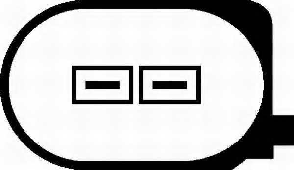 Водяной насос системы очистки фар HELLA 8TW 006 849-031 - изображение 1