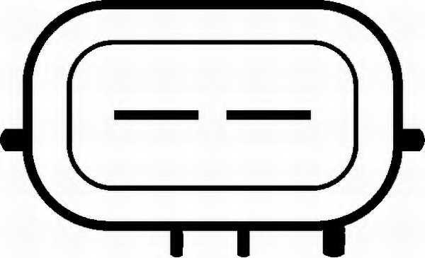 Водяной насос системы очистки фар HELLA 8TW 006 849-051 - изображение 1