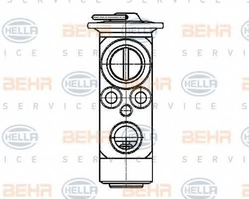 Расширительный клапан кондиционера HELLA 8UW 351 239-401 - изображение