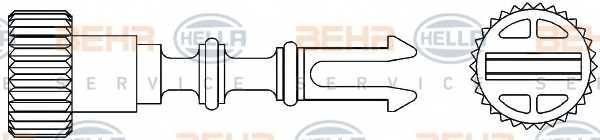 Болт, пробка радиатора HELLA 9NS 376 747-041 - изображение