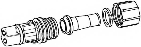 Комплект соединителей проводов HELLA 9XX 340 879-001 - изображение