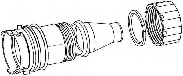 Комплект соединителей проводов HELLA 9XX340884-001 - изображение