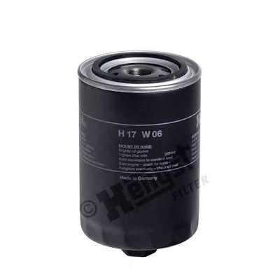 Фильтр масляный HENGST FILTER 123100000 / H17W06 - изображение