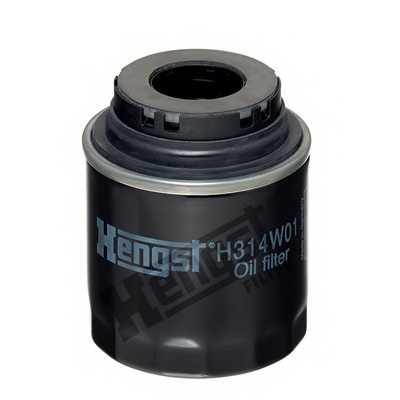 Фильтр масляный HENGST FILTER 4108100000 / H314W01 - изображение