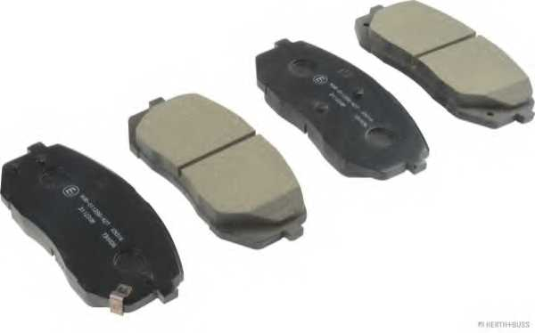 Колодки тормозные дисковые HERTH+BUSS JAKOPARTS J3600338 - изображение