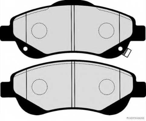 Колодки тормозные дисковые для HONDA CR(RE) <b>HERTH+BUSS JAKOPARTS J3604001</b> - изображение 1