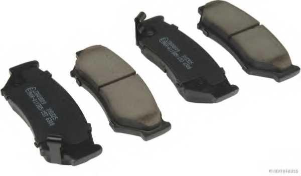 Колодки тормозные дисковые HERTH+BUSS JAKOPARTS J3608009 - изображение