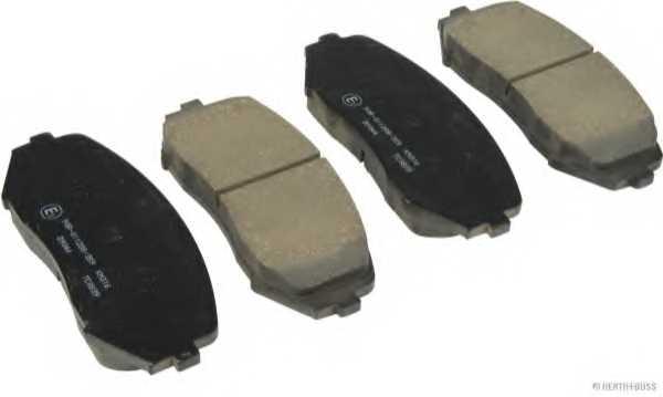 Колодки тормозные дисковые HERTH+BUSS JAKOPARTS J3608028 - изображение