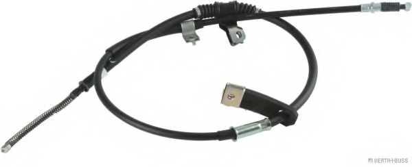 Трос стояночной тормозной системы HERTH+BUSS JAKOPARTS J3925014 - изображение