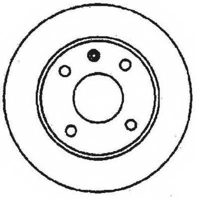 Тормозной диск JURID 561141JC - изображение