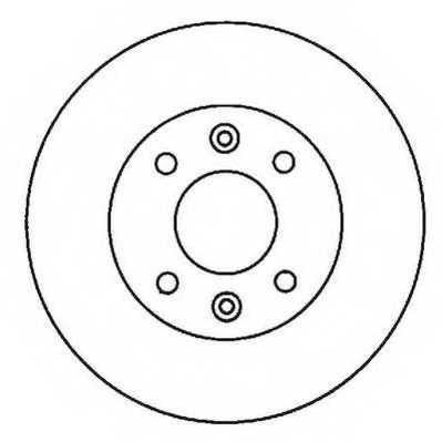 Тормозной диск JURID 561997JC - изображение